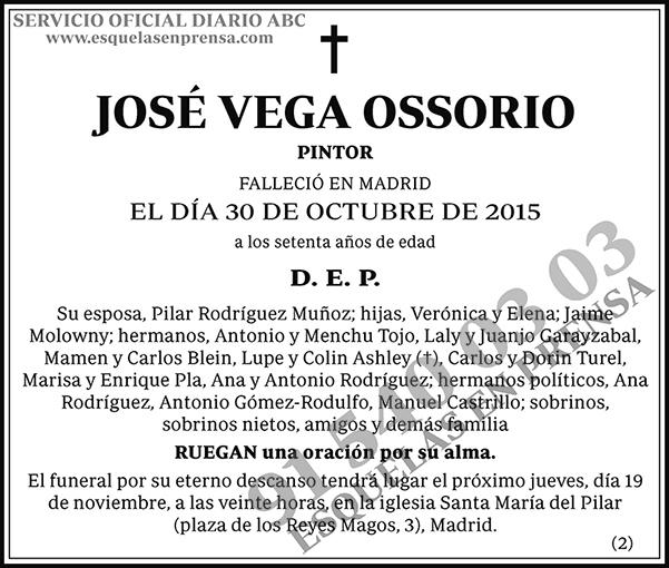 José Vega Ossorio